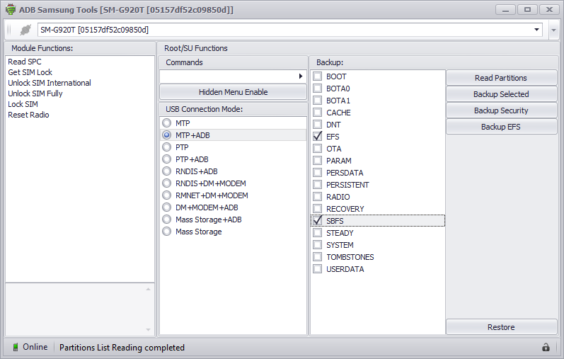 Products: Android Tools - CDMATool