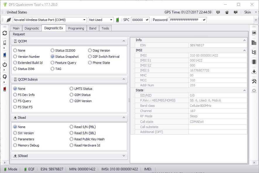 Products: QTool - CDMATool