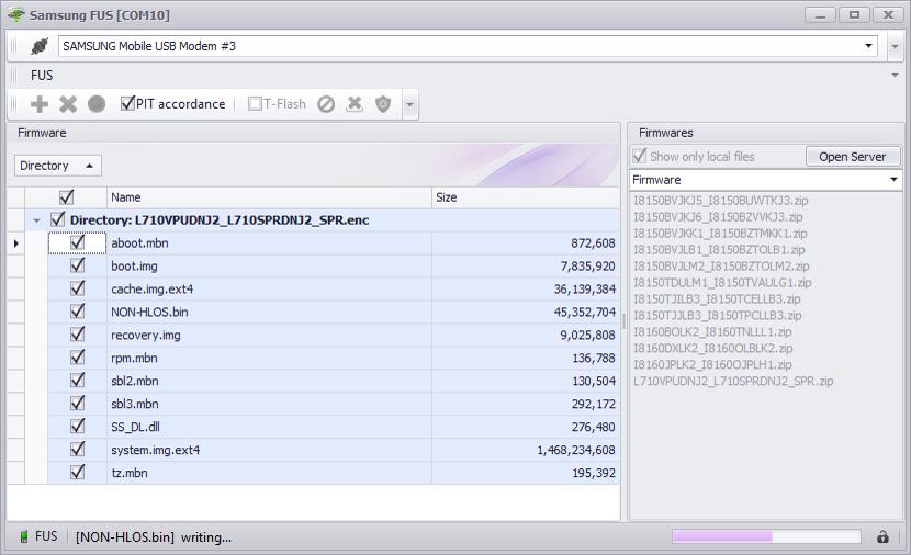Products: Samsung Tools - CDMATool